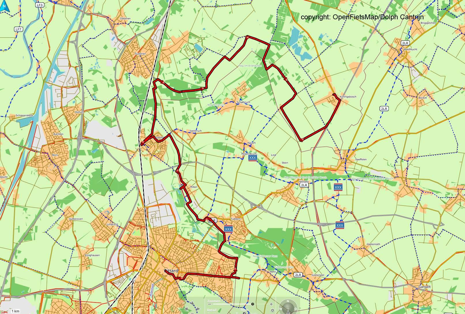 Dag 16 Sittard - Koningsbosch