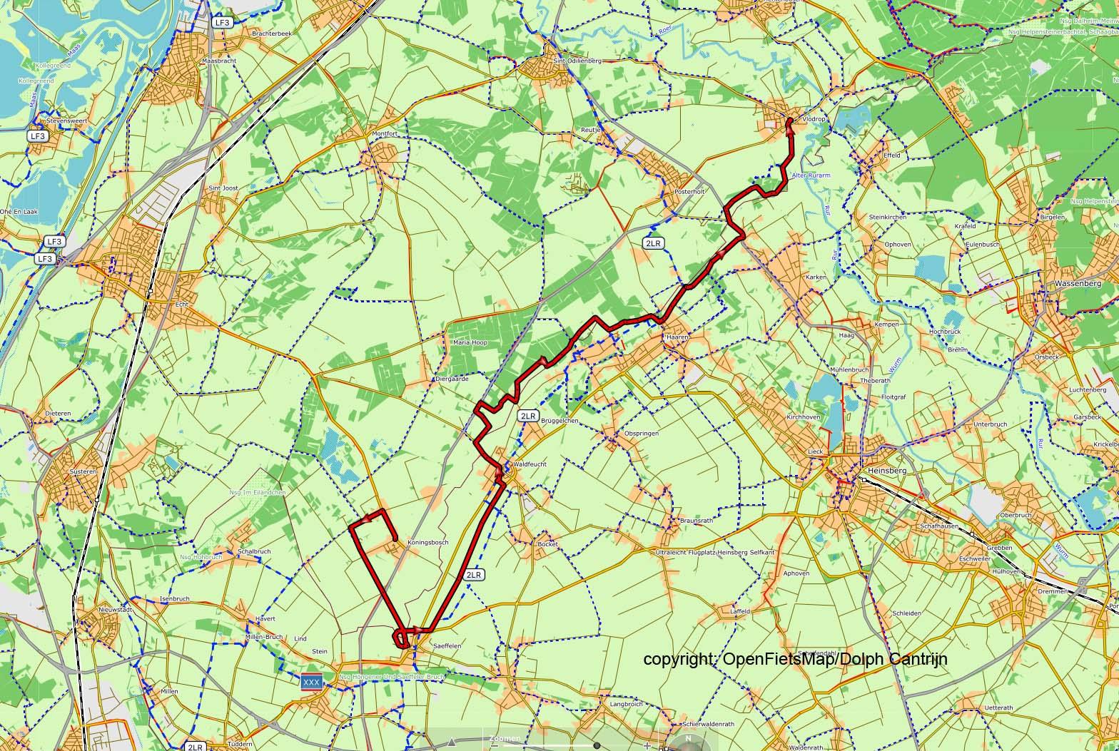 Dag 17 Koningsbosch - Vlodrop