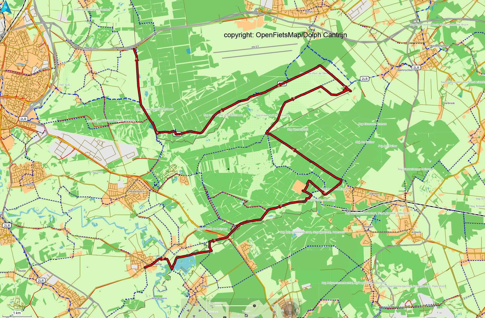 Dag 18 Vlodrop - Roermond