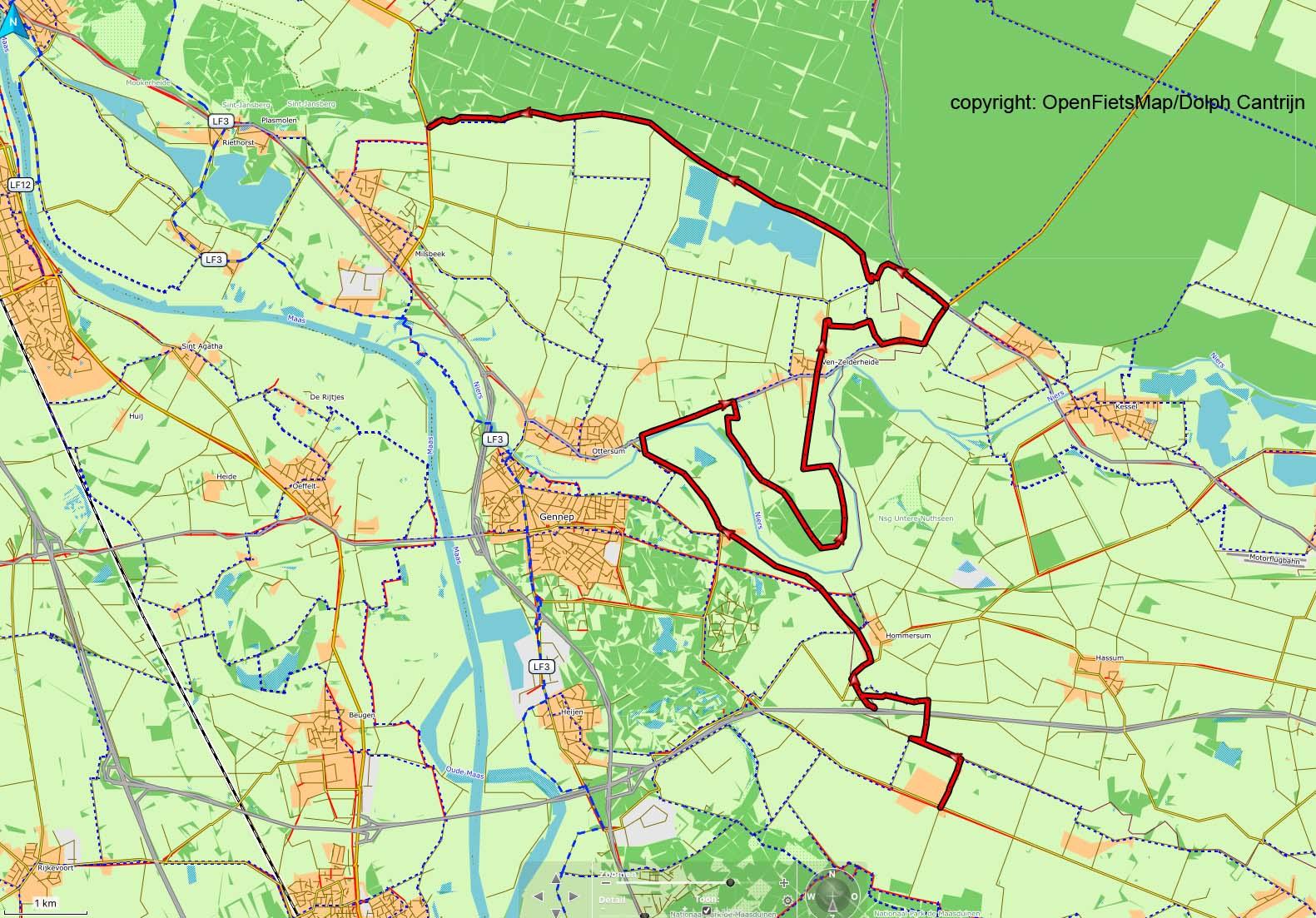 Dag 23 Afferden - Milsbeek