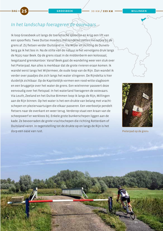 Dag 25 Groesbeek - Millingen
