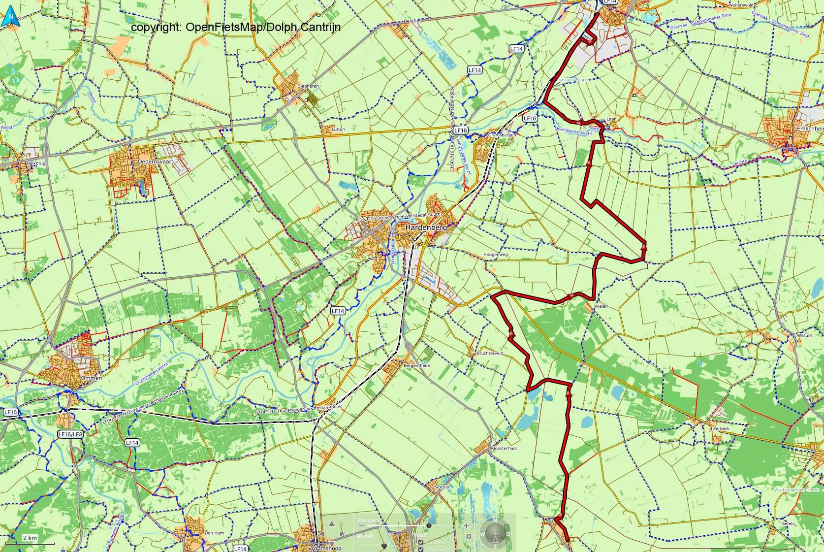 Dag 37 Langeveen-Coevorden