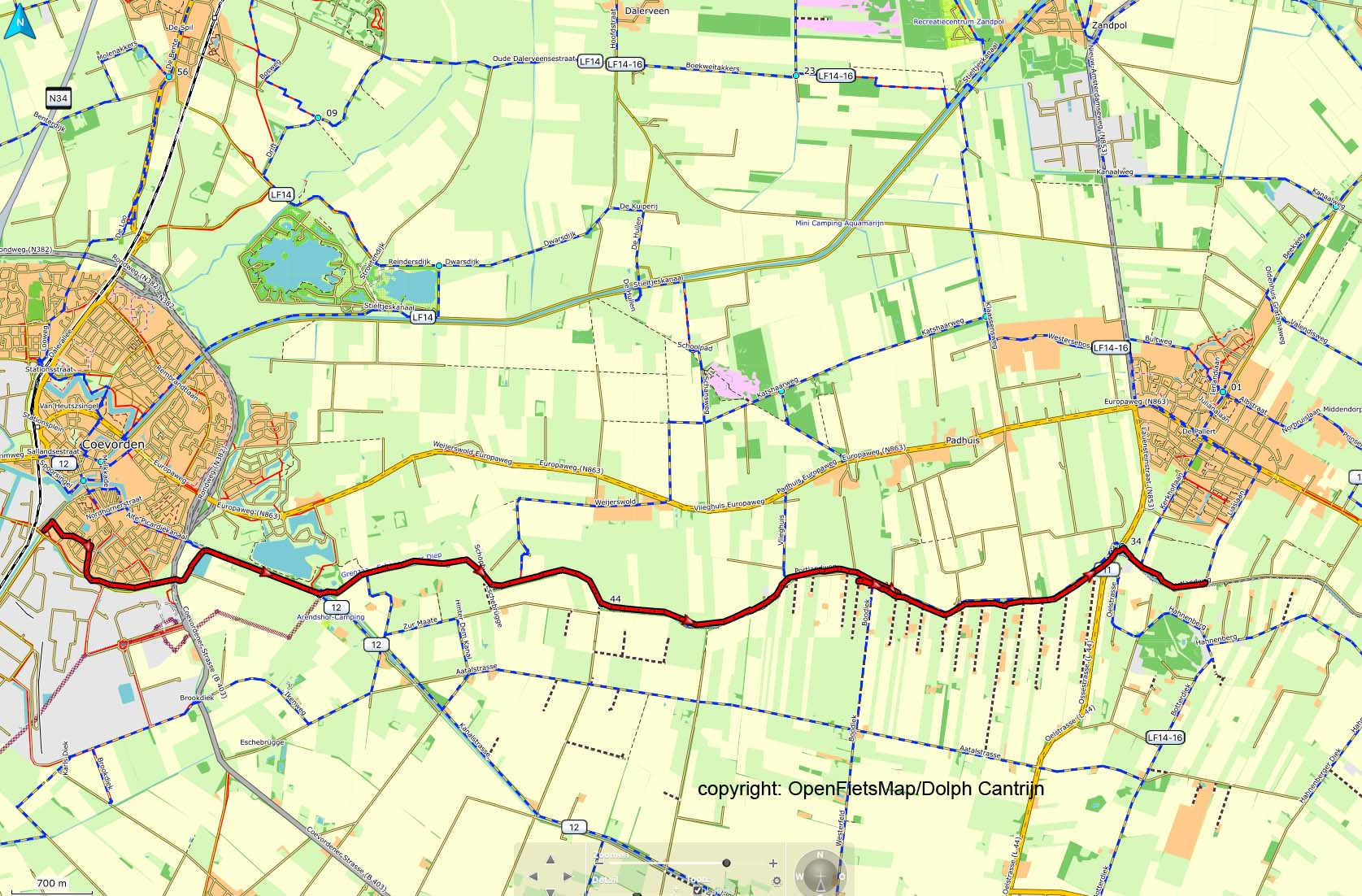Dag 38 Coevorden - Schoonebeek