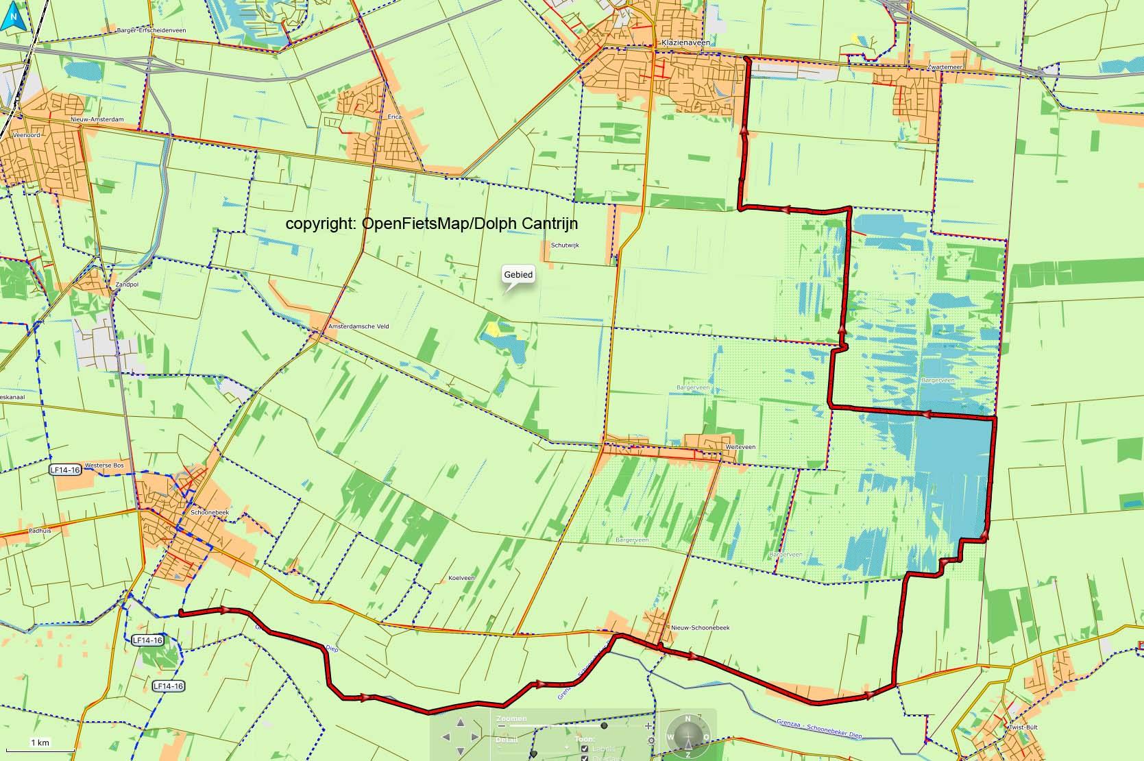 Dag 39 Schoonebeek - Klazienaveen