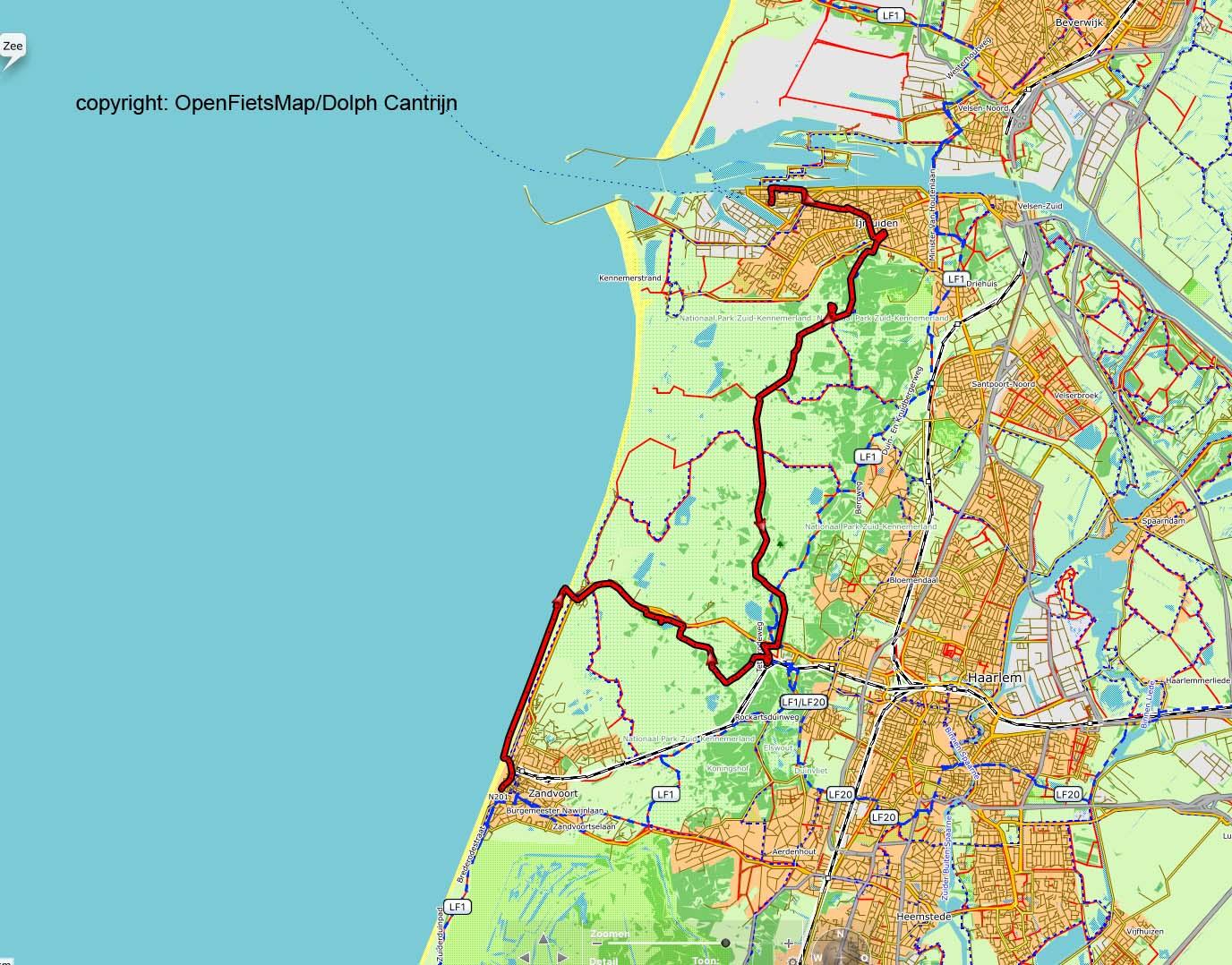 Dag 59 IJmuiden - Zandvoort