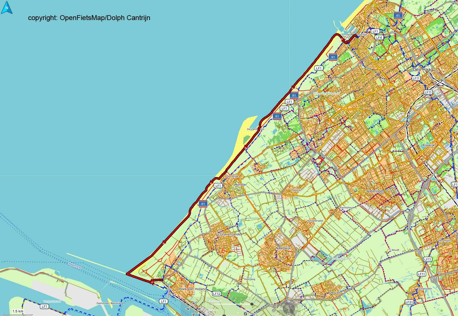 Dag 62 Scheveningen - Hoek van Holland-Origineel-Origineel